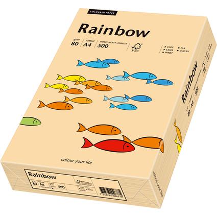PAPYRUS Multifunktionspapier Rainbow, A4, 80 g/qm, lachs