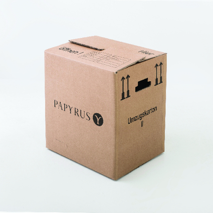 PAPYRUS Umzugskarton, (B)500 x (T)350 x (H)370 mm, braun