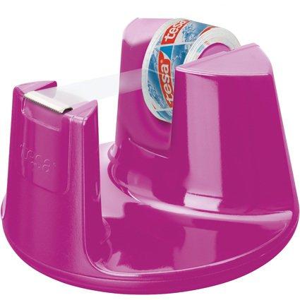 tesa Tischabroller Easy Cut Compact, bestückt, pink
