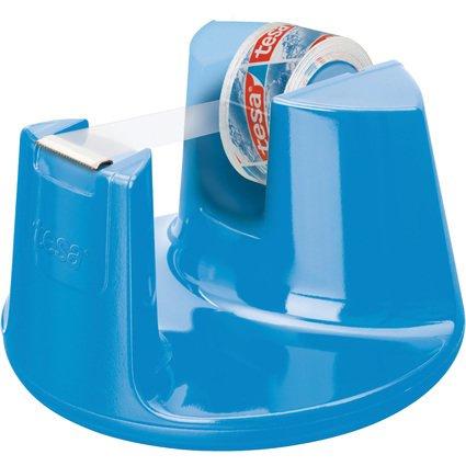 tesa Tischabroller Easy Cut Compact, bestückt, blau