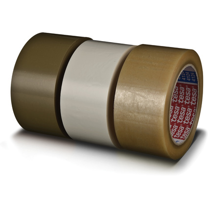 tesapack Verpackungsklebeband 4124, aus PVC, 50 mm x 66 m