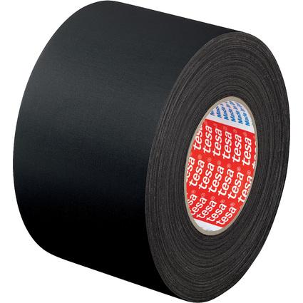 tesa Gewebeband 4651 Premium, 25 mm x 50 m, schwarz