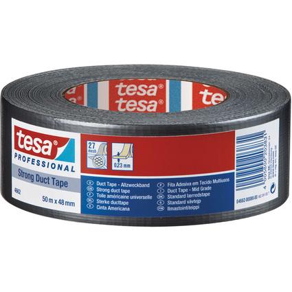 tesa Gewebeband 4662, 48 mm x 50 m, weiß