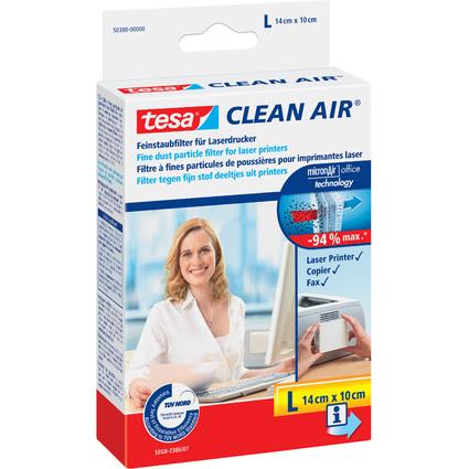 """tesa Feinstaubfilter """"CLEAN AIR"""", Größe L, Maße: 140 x 100mm"""