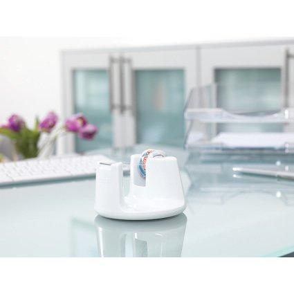 tesa Tischabroller Easy Cut Compact, bestückt, weiß