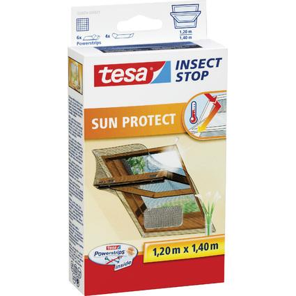 tesa Fliegengitter mit Sonnenschutz für Dachfenster