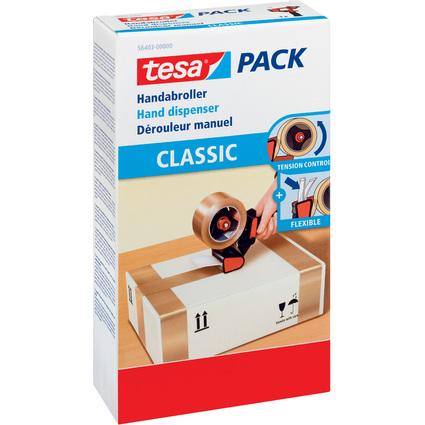tesapack Handabroller Classic für Verpackungsklebeband