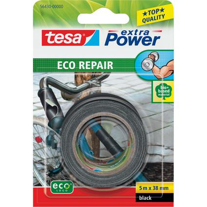 tesa ecoLogo Gewebeband Extra Power Repair, 38 mm x 5 m