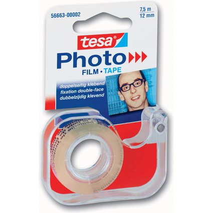 tesa Photo Film Abroller, inkl. Foto Film 12 mm x 7,5 m