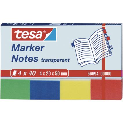tesa Marker Notes Haftmarker Film, 50 x 20 mm