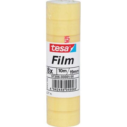 tesa Film standard, transparent, 19 mm x 10 m