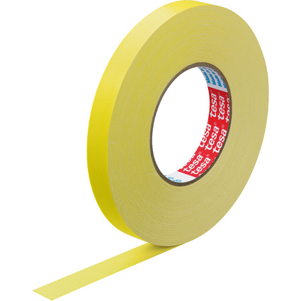 tesa Gewebeband, 19 mm x 50 m, gelb