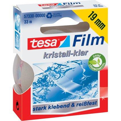 tesa Film, kristall-klar, 19 mm x 33 m