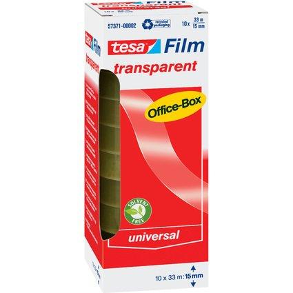 tesa Film, transparent, 15 mm x 33 m