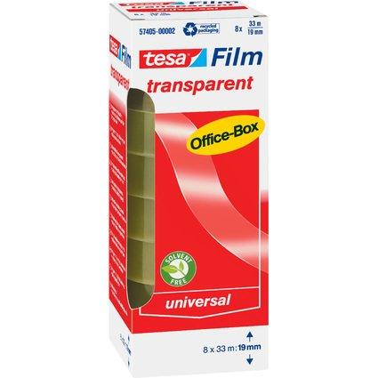 tesa Film, transparent, 19 mm x 33 m