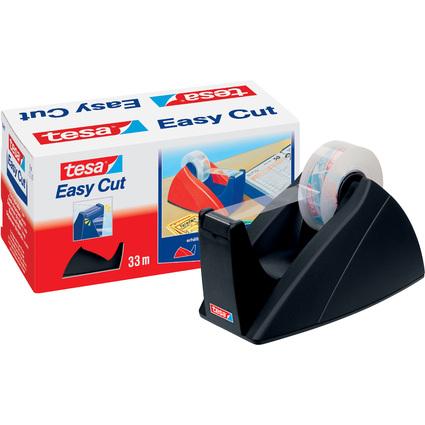 tesa Tischabroller Easy Cut, schwarz, unbestückt