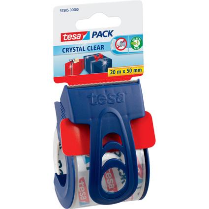 tesapack Verpackungsklebeband + Einweg-Handabroller