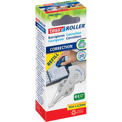 tesa ecoLogo Refill-Kassette für Korrekturroller