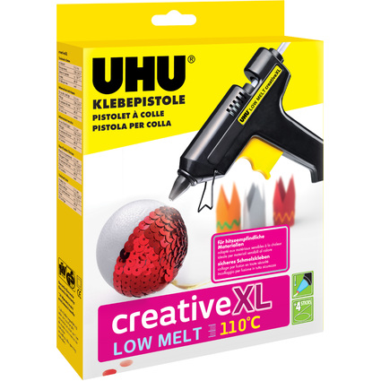 UHU Niedrigtemperatur-Klebepistole Low Melt Creative XL