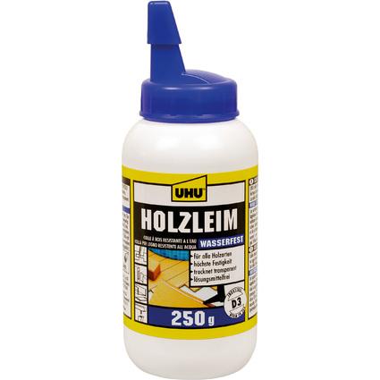 UHU Holzleim wasserfest D3, lösemittelfrei, 250 g Flasche