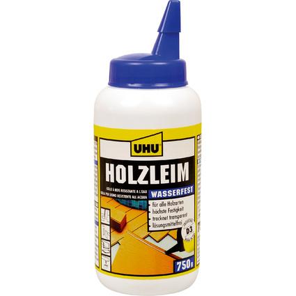 UHU Holzleim wasserfest D3, lösemittelfrei, 750 g Flasche