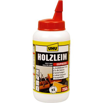 UHU Holzleim Express D2, lösemittelfrei, 750 g Flasche