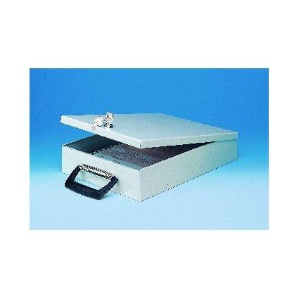 WEDO Dokumenten-Kassette, DIN A4, mit Koffergriff