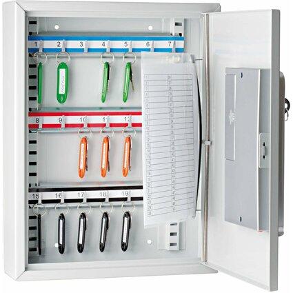 WEDO Schlüsselschrank mit Elektronikschloss,für 21 Schlüssel