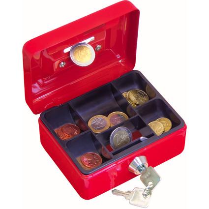 WEDO Kindergeldkassette mit Münzeinwurf, farbig sortiert