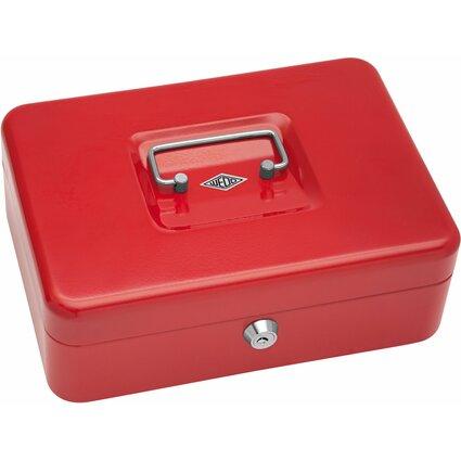 WEDO Geldkassette mit Clip, (B)250 x (T)180 x (H)90 mm