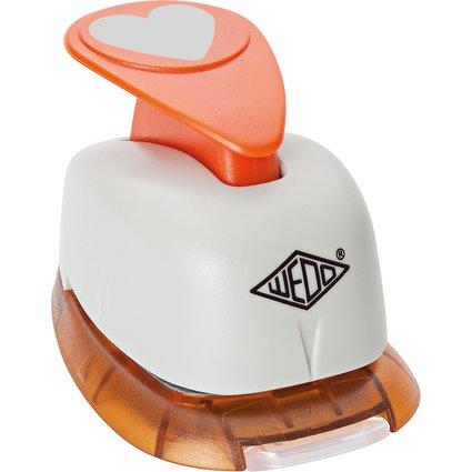 WEDO Motiv-Locher Herz, groß, (B)75 x (T)52 x (H)48 mm