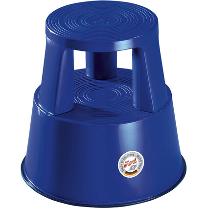 WEDO Rollhocker, aus Kunststoff, blau / RAL 5002