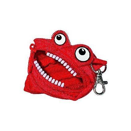WEDO Geldbörse Monster mit Karabinerhaken, farbig sortiert