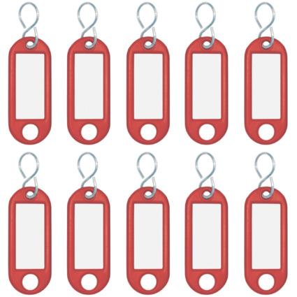 WEDO Schlüsselanhänger S-Haken, rot, Kleinpackung
