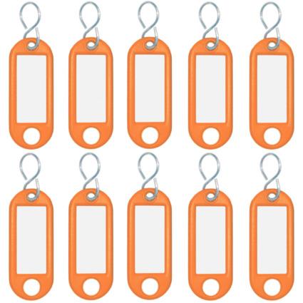 WEDO Schlüsselanhänger S-Haken, orange, Kleinpackung