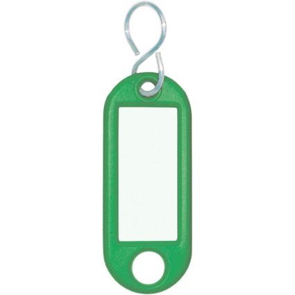 WEDO Schlüsselanhänger S-Haken, grün, Großpackung
