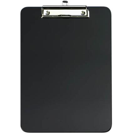 WEDO Klemmbrett, DIN A4, aus ABS-Kunststoff, schwarz