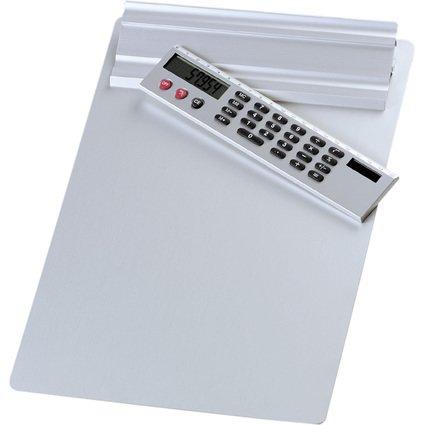 WEDO Klemmbrett, DIN A4, mit abnehmbaren Taschenrechner