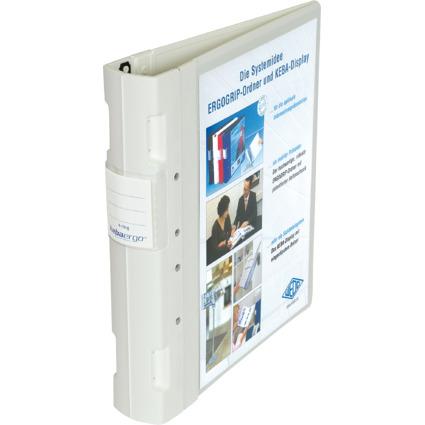 WEDO ERGOGRIP Präsentations-Ordner, DIN A4, 56 mm, weiß