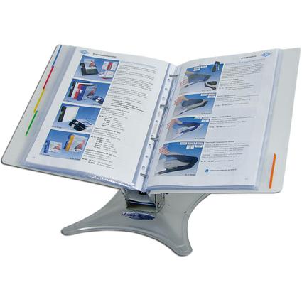 WEDO Tischständer KEBA-Display, mit ERGOGRIP Ordner, 56 mm