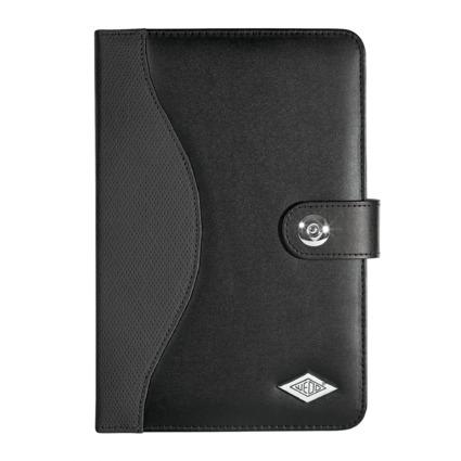 """WEDO Portfolio """"TrendSet"""" für Tablet-PC, Kunstleder, schwarz"""