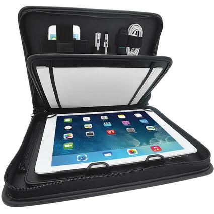 WEDO Universal-Tablet-PC Organizer Amiga, Kunstleder,schwarz