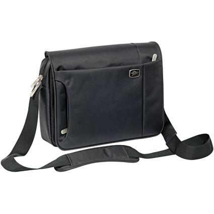 WEDO Crossover-Tasche GoFashion für Tablet-PC, quer, schwarz