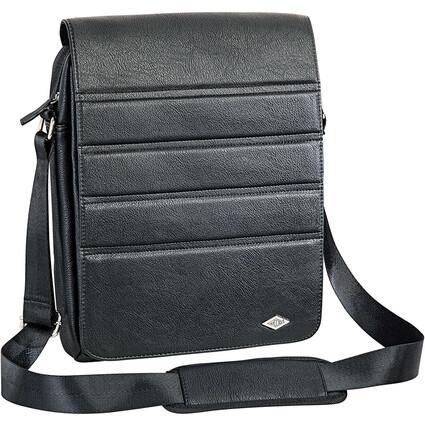 WEDO Crossover-Tasche GoFashionPro für Tablet-PC, schwarz