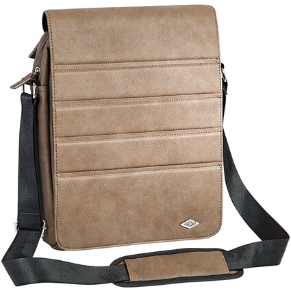 WEDO Crossover-Tasche GoFashionPro für Tablet-PC, braun