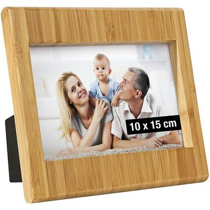 WEDO Bilderrahmen, aus Bambus, 10 x 15 cm