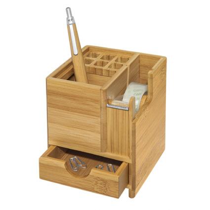 WEDO Schreibtisch-Organizer, aus Bambus