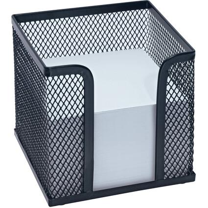 WEDO Zettelbox Office, aus Drahtmetall, schwarz