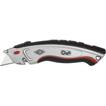 WEDO Safety-Cutter Profi Plus, Klinge: 19 mm, silber/schwarz
