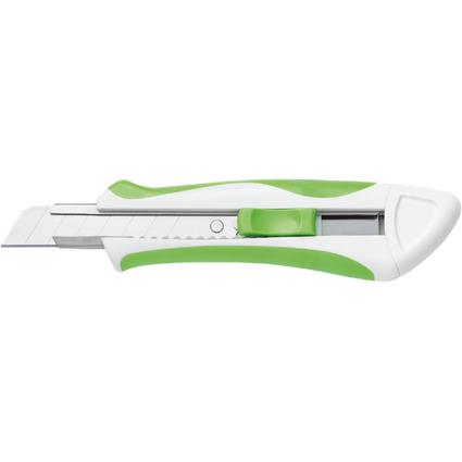 WEDO Profi-Cutter Comfortline, Klinge: 18 mm, weiß/grün